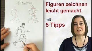 Figuren zeichnen leicht gemacht - mit 5 Tipps