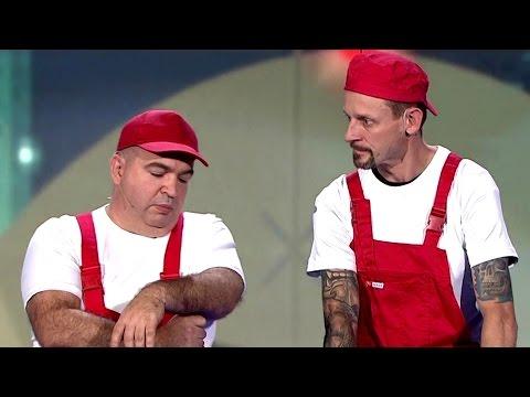 Kabaret Ani Mru Mru - Konserwacja powierzchni płaskich