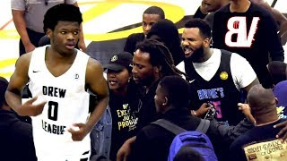 Ex-BIG BALLER VS Drew League MVP Gets HEATED! THE GAME Ready To Go Outside! Undefeated Team Tested