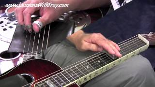SLOW & PRETTY Dobro - PART 1 - Easy Movable Shapes, Patterns, & Licks