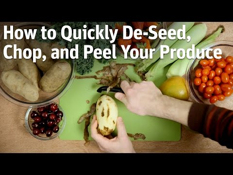 How To Quickly Deseed, Chop And Peel Your Produce