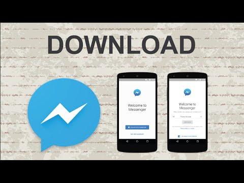 How to download Facebook Messenger   Mobile App