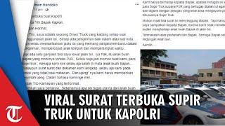Surat Terbuka Sopir ke Tito Karnavian karena 'Dipalak' Polisi di Tol, 'Apa Tugas Anak Buah Bapak?'