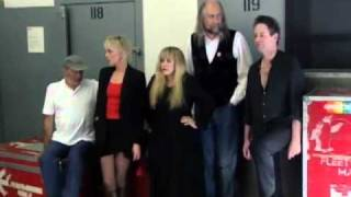 Fleetwood Mac - THE DANCE Rehearsal Interview + Performances Part 1/4