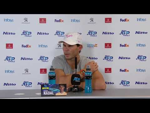 Rafael Nadal Press conference after his match against Zverev / ATP Finals 2019