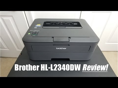 Brother HL-L2340DW Printer Review!