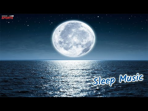 Sleep Music With Moonlit  Night + Soft Water Sounds