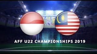 Piala AFF B22 2019: Malaysia lwn Indonesia | 2-2 | Astro Arena
