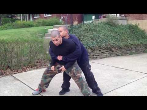 Self Defense: Bear Hug Escape