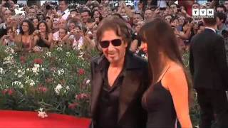 Festival di Venezia - Al Pacino sul red carpet di Wilde Salomé
