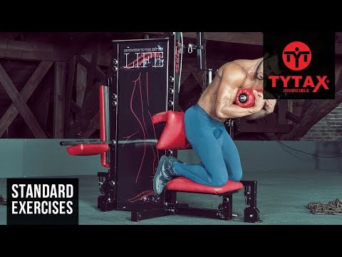 Lever Kneeling Crunch (Chest Pad) | TYTAX® S6