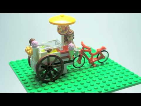 Vidéo LEGO Friends 41030 : Le stand de glace d'Olivia
