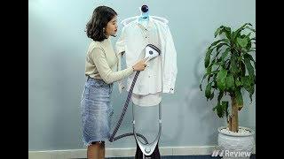 Video đánh giá bàn ủi hơi nước đứng Philips Comfort Touch Plus GC558 hàng chính hãng