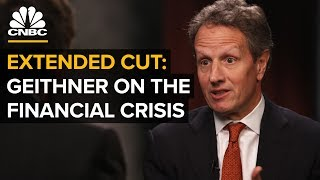 Former NY Fed Pres. Geithner On The 2008 Crisis