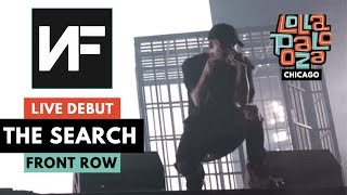 "NF LIVE *DEBUT* OF ""THE SEARCH""   822019 Lollapalooza Chicago"