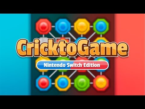 CricktoGame: Nintendo Switch Edition - Release Date Trailer thumbnail