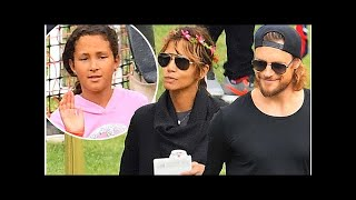 Halle Berry, 51, and ex Gabriel Aubry take daughter Nahla to carnival