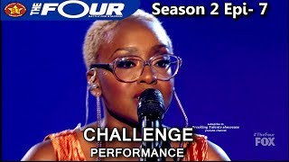 "Leah Jenea sings ""Focus"" Challenge Performance  The Four Season 2 Ep. 7 S2E7"