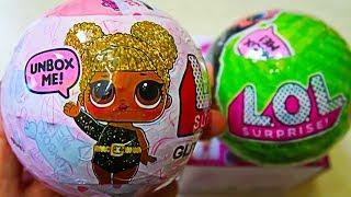 Золотые куклы ЛОЛ шар сюрприз оригинал или подделка LQL