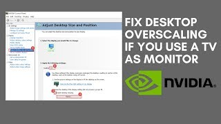 Fix Desktop Overscaling If you Use a TV as Monitor