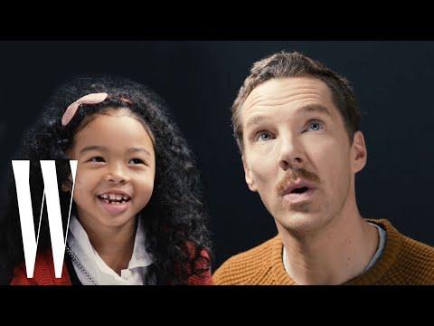 Benedict Cumberbatch Gets Interviewed By A Cute Kid  | Little W | W Magazine (видео)