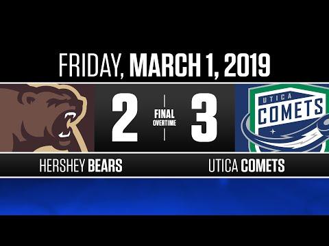 Bears vs. Comets   Mar. 1, 2019