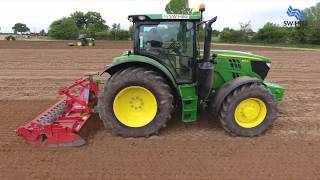 Sw machinery hire ltd with Tractor over 300 hp at Lacock, Chippenham
