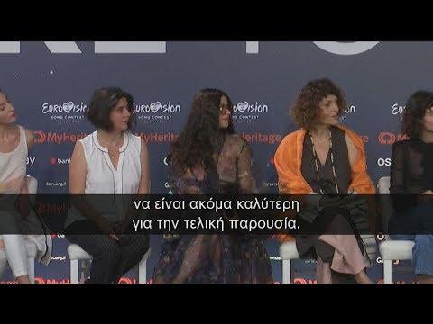 Eurovision 2019: Δεύτερη πρόβα για την Κατερίνα Ντούσκα