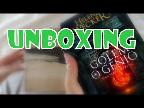 UNBOXING | GOLEM E O GÊNIO