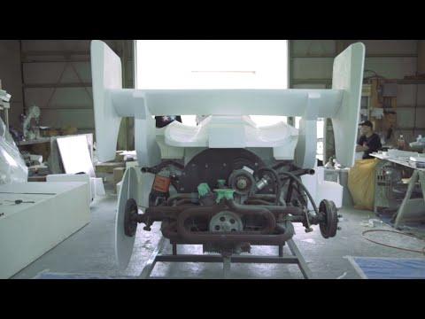 田宮模型 四驅車 1:1 計畫 - 車身原型篇