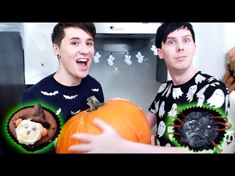 Halloween Baking - SPOOKY CUPCAKES
