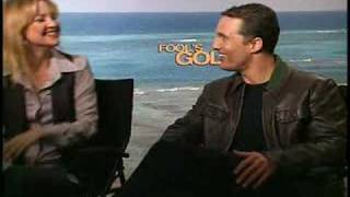 Кейт Хадсон, Kate Hudson Matthew McConaughey interview for Fool's Gold