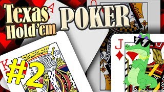TEXAS HOLD'EM POKER [HD] #2 - 2 X POKER = SWAG ★ Let's Play Texas Hold'em Poker 3D [Deutsch]