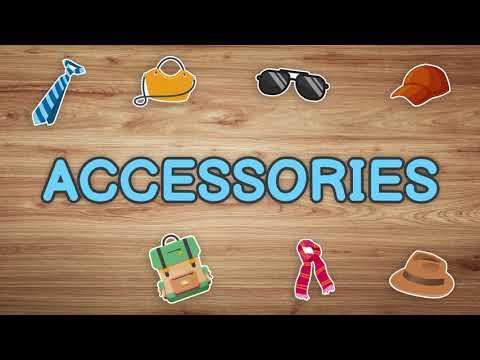 Accessories Vocabulary
