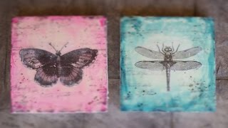 Encaustic For Beginners - The Making Of An Encaustic Butterfly And Dragonfly