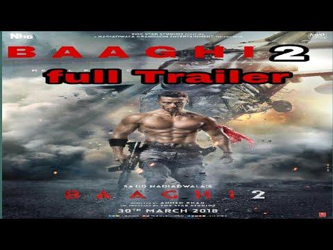 Baaghi 2 full trailer movieft.tiger shroff disha patani 2018 [sab much milega]