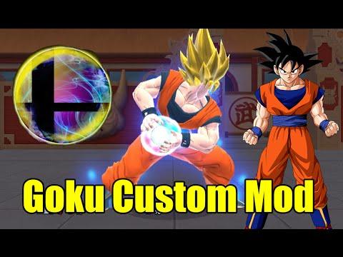 Goku Super Smash Bros Mod