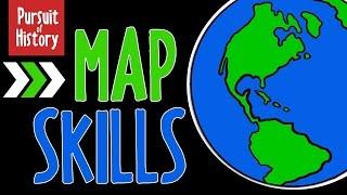 Map Skills: Geography, Latitude and Longitude