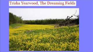 The Dreaming Fields ~~ by Trisha Yearwood (with lyric)