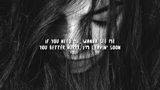 Billie Eilish - Listen Before I Go (Lyrics)