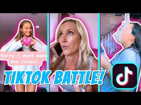 TikTok Battle! Teens VS Mom   Its R Life