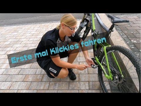 Erste mal Klickies   Fahrradtour Miltenberg   MTBTravelGirl