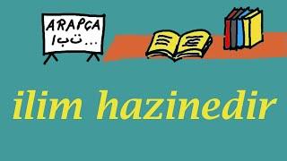 arapca ögreniyorum 35.1  herkes icin sifirdan pratik arapca dersleri