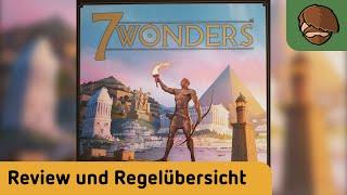 7 Wonders – Brettspiel – Review und Regelübersicht