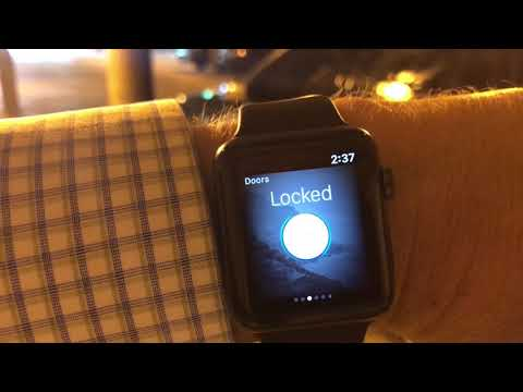 Start Your Volvo XC90 with Apple Watch