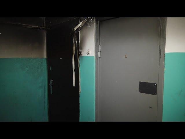 Пять человек эвакуировали из-за пожара в многоэтажке