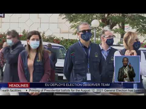 EU ELECTION OBSERVERS DEPLOYED