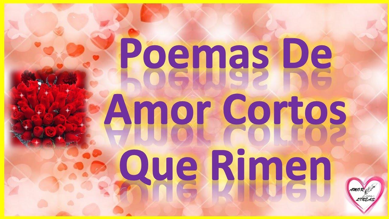 Imagenes De Poemas De Amor Cortos Para Mi Novio Que Rimen