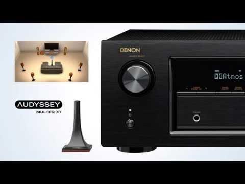 The AVR-X2200W Network A/V Receiver - Blockbusting 3D Sound