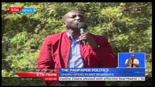 Prime: For the second time in 6 years, a Kenyan president has reopened the PanPaper mills in Bungoma